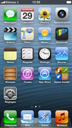Apple iPhone 5 - Réseau - Sélection manuelle du réseau - Étape 9