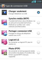 LG Optimus F5 - Internet et connexion - Utiliser le mode modem par USB - Étape 6