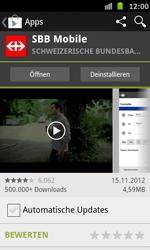 Samsung Galaxy S Advance - Apps - Installieren von Apps - Schritt 24