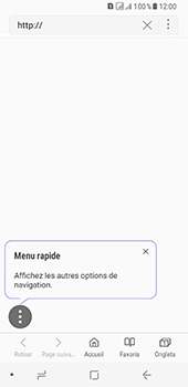 Samsung Galaxy A8 (2018) - Internet - Navigation sur Internet - Étape 5