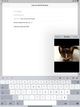 Apple ipad-pro-12-9-inch-2018-model-a1895 - E-mail - Bericht met attachment versturen - Stap 11