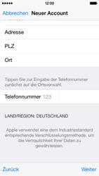 Apple iPhone 5S mit iOS 8 - Apps - Konto anlegen und einrichten - Schritt 35