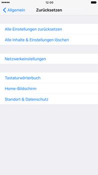 Apple iPhone 6s Plus - Fehlerbehebung - Handy zurücksetzen - 7 / 11