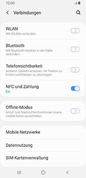 Samsung Galaxy S9 - Android Pie - Internet und Datenroaming - Prüfen, ob Datenkonnektivität aktiviert ist - Schritt 5