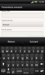 HTC One SV - E-mail - Configuration manuelle - Étape 11