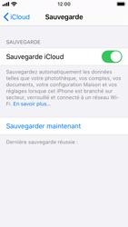 Apple iPhone SE - iOS 13 - Données - créer une sauvegarde avec votre compte - Étape 13