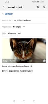 Huawei Y6 (2019) - E-mail - envoyer un e-mail - Étape 14