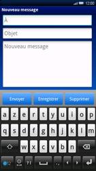 Sony Ericsson Xperia X10 - E-mail - envoyer un e-mail - Étape 4
