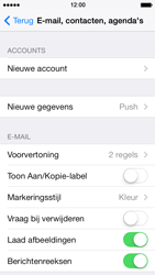 Apple iPhone 5 iOS 7 - E-mail - handmatig instellen - Stap 4