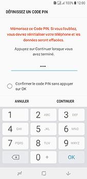 Samsung Galaxy J6 - Sécuriser votre mobile - Activer le code de verrouillage - Étape 8