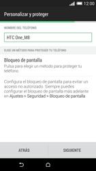 HTC One M8 - Primeros pasos - Activar el equipo - Paso 14