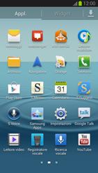 Samsung Galaxy S III - Rete - Selezione manuale della rete - Fase 3