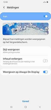 Samsung Galaxy A50 - Beveiliging - stel in of wijzig pincode voor je toestel - Stap 11