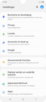 Samsung Galaxy A41 Dual-SIM (SM-A415F) - Instellingen aanpassen - Back-up maken in je account - Stap 4