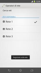 Sony Xperia Z1 Compact - Rete - Selezione manuale della rete - Fase 10