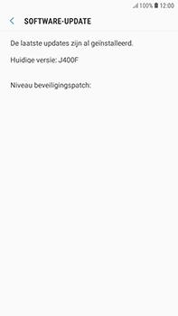 Samsung Galaxy J4 - Software update - update installeren zonder PC - Stap 7