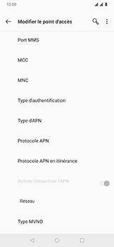 OnePlus 6T - Internet - Configuration manuelle - Étape 12