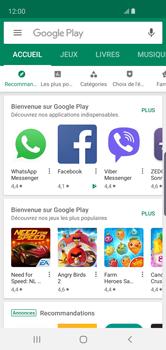 Samsung Galaxy S10e - Applications - Comment vérifier les mises à jour des applications - Étape 5
