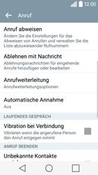 LG Leon - Anrufe - Rufumleitungen setzen und löschen - Schritt 5