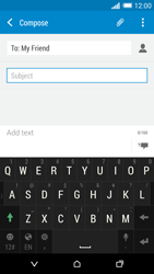HTC One M8 - MMS - Sending pictures - Step 10
