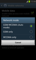 Samsung I8190 Galaxy S III Mini - Network - Change networkmode - Step 8