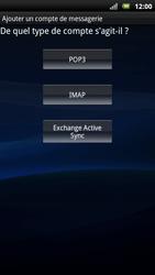 Sony Xperia Neo - E-mail - Configuration manuelle - Étape 6