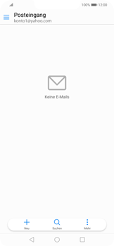 Huawei Mate 20 Lite - E-Mail - Konto einrichten (yahoo) - Schritt 8