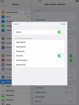 Apple iPad Retina iOS 7 - E-mail - manual configuration - Step 21