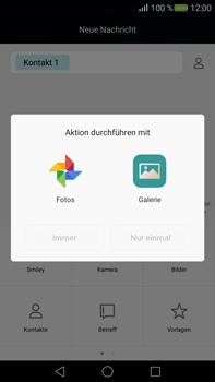 Huawei Mate S - MMS - Erstellen und senden - 0 / 0