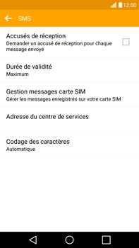 LG H815 G4 - SMS - configuration manuelle - Étape 7