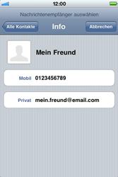 Apple iPhone 3GS - MMS - Erstellen und senden - 8 / 16