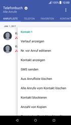 HTC One A9 - Anrufe - Anrufe blockieren - 2 / 2