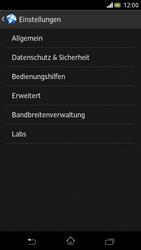 Sony Xperia V - Internet und Datenroaming - Manuelle Konfiguration - Schritt 21