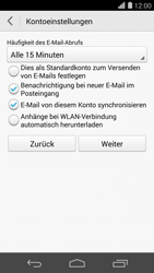 Huawei Ascend P7 - E-Mail - Konto einrichten (outlook) - 1 / 1
