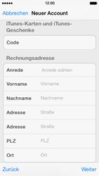 Apple iPhone 5 - Apps - Konto anlegen und einrichten - 31 / 36