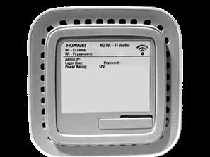 Huawei E5180 - Premiers pas - Noter les codes Wi-Fi - Étape 2