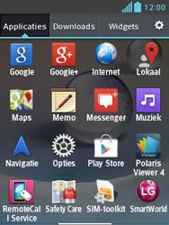 LG E430 Optimus L3 II - wifi - handmatig instellen - stap 3