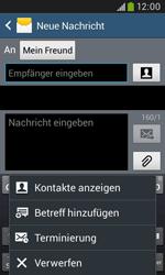 Samsung Galaxy Trend Plus - MMS - Erstellen und senden - 12 / 24
