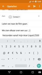 Acer Liquid Z530 - E-mail - E-mails verzenden - Stap 9