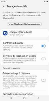 Samsung Galaxy J6 Plus - Appareil - configurer Localiser mon appareil - Étape 7