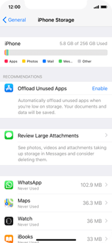 Apple iPhone X - Applications - How to uninstall an app - Step 5