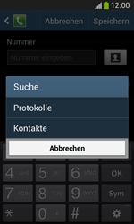 Samsung Galaxy Core Plus - Anrufe - Anrufe blockieren - 0 / 0