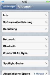 Apple iPhone 3GS - Ausland - Im Ausland surfen – Datenroaming - 6 / 9