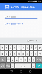 Huawei Y6 (2017) - E-mail - Configuration manuelle (gmail) - Étape 10
