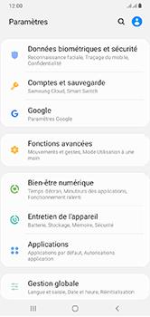 Samsung Galaxy A10 - Appareil - configurer Localiser mon appareil - Étape 4