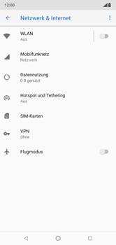 Nokia 6.1 Plus - Netzwerk - Netzwerkeinstellungen ändern - 5 / 9
