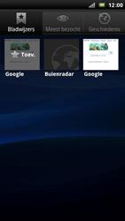 Sony Ericsson LT15i Xperia Arc - Internet - hoe te internetten - Stap 9
