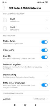 Xiaomi Mi Mix 3 5G - Netzwerk - So aktivieren Sie eine 5G-Verbindung - Schritt 5