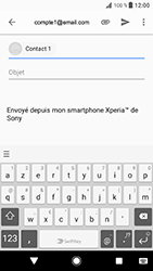 Sony Xperia XZ - Android Oreo - E-mail - envoyer un e-mail - Étape 7