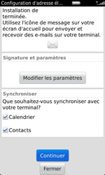 BlackBerry 9860 Torch - E-mail - configuration manuelle - Étape 11